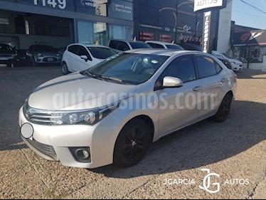 Toyota Corolla 1.8 XEi usado (2014) color Gris Oscuro precio $709.000