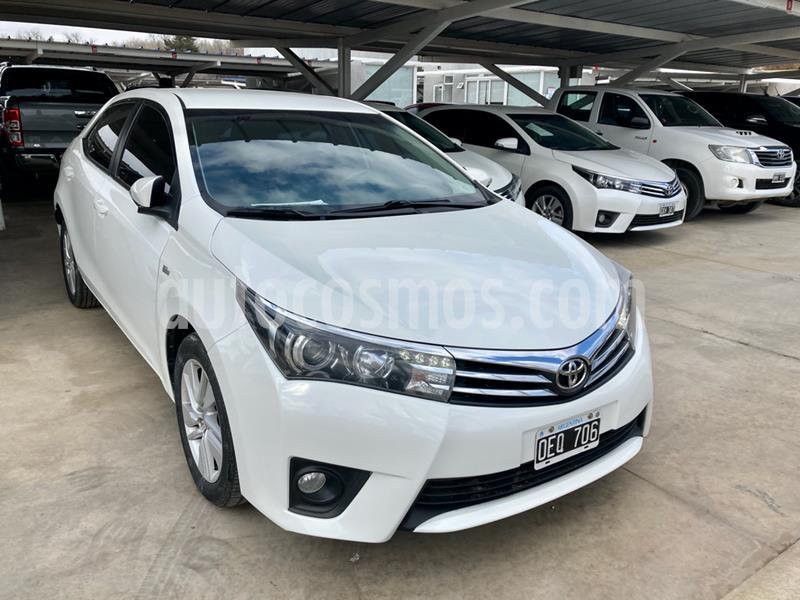 Toyota Corolla 1.8 XEi CVT usado (2014) color Blanco precio $1.135.000