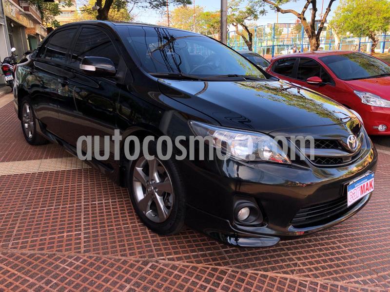 Toyota Corolla XRS usado (2013) color Negro precio $1.095.000