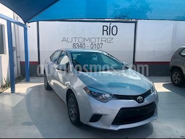 Foto Toyota Corolla Base Aut usado (2015) color Plata precio $181,000