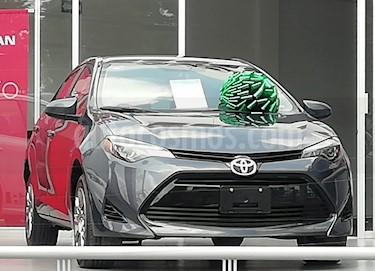 Toyota Corolla Base Aut usado (2018) color Gris Metalico precio $225,000
