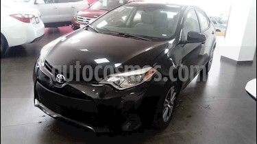 foto Toyota Corolla Base Aut usado (2016) color Negro precio $185,000