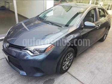 Foto venta Auto Seminuevo Toyota Corolla Base Aut (2015) color Gris Metalico precio $195,000