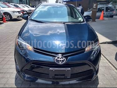 Toyota Corolla Base Aut usado (2017) color Azul precio $219,000