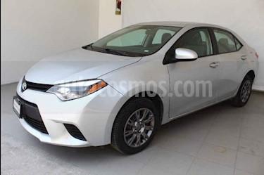 Foto venta Auto usado Toyota Corolla Base Aut (2016) color Plata precio $206,000