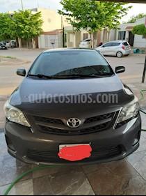 Toyota Corolla Base Aut usado (2013) color Gris precio $156,000