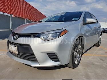 Foto venta Auto usado Toyota Corolla Base (2014) color Gris precio $179,000