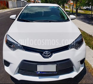 Toyota Corolla Base usado (2015) color Blanco precio $185,000