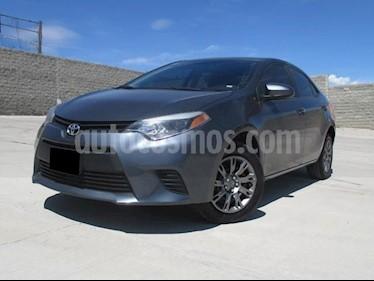 foto Toyota Corolla Base usado (2015) color Gris Metálico precio $195,000