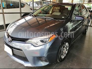 Foto venta Auto usado Toyota Corolla Base (2015) color Gris Metalico precio $165,000