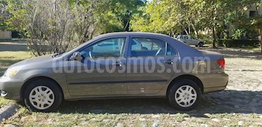 Foto venta Auto usado Toyota Corolla CE 1.8L Aut (2008) color Gris Oscuro precio $90,000
