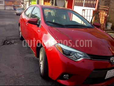 Toyota Corolla CE 1.8L Aut usado (2015) color Rojo precio $145,800