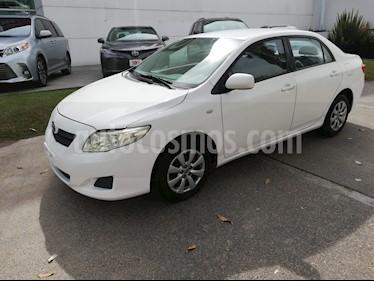 Foto venta Auto Seminuevo Toyota Corolla CE 1.8L (2009) color Blanco precio $119,000
