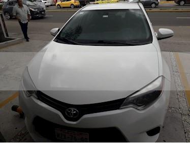 Toyota Corolla CE 1.8L usado (2016) color Blanco precio $170,000