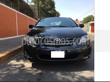Toyota Corolla CE 1.8L usado (2009) color Negro precio $100,000