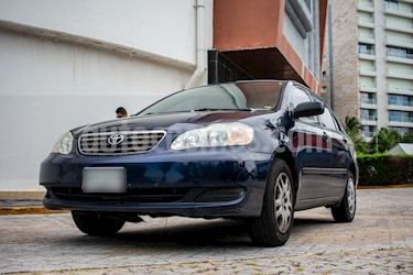 Foto venta Auto usado Toyota Corolla CE 1.8L  (2006) color Azul precio $85,000