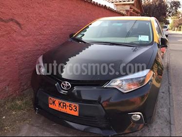 Toyota Corolla GL usado (2015) color Negro precio $18.000.000