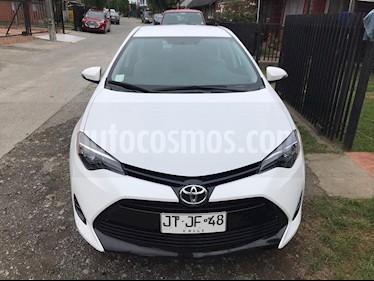 Toyota Corolla 1.8 usado (2017) color Blanco precio $9.200.000