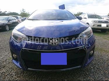 Toyota Corolla 1.8L XEi Aut usado (2015) color Azul precio $30.000.000