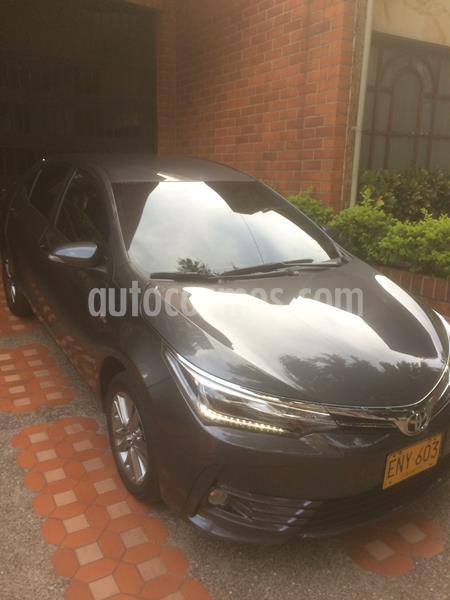 Toyota Corolla 1.8 XEi Aut  usado (2019) color Gris precio $61.500.000