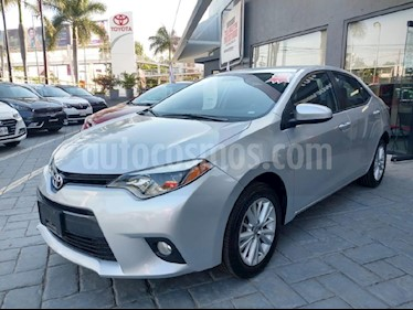 Foto venta Auto usado Toyota Corolla LE 1.8L Aut (2015) color Plata precio $209,000