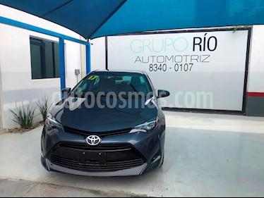 Foto venta Auto usado Toyota Corolla LE 1.8L Aut (2017) color Gris precio $255,000