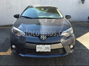 Foto Toyota Corolla LE 1.8L Aut usado (2015) color Gris Metalico precio $210,000
