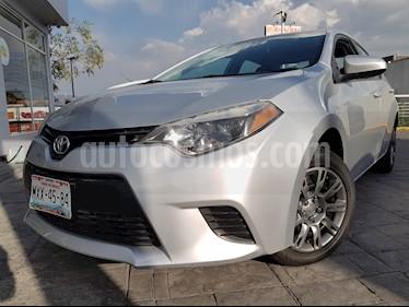 Foto venta Auto usado Toyota Corolla LE 1.8L Aut (2016) color Plata Metalico precio $220,000