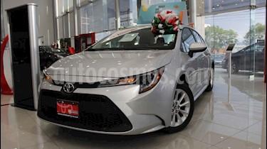 Toyota Corolla LE 1.8L Aut usado (2020) color Plata precio $322,000