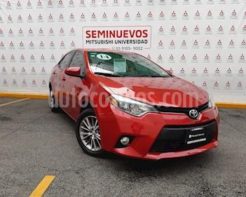 Foto venta Auto usado Toyota Corolla LE 1.8L Aut (2014) color Rojo Mica precio $175,000
