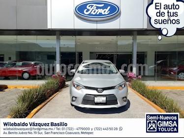 Foto venta Auto usado Toyota Corolla LE 1.8L Aut (2014) color Plata precio $165,000