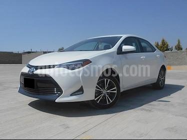 Foto venta Auto usado Toyota Corolla LE 1.8L Aut (2018) color Blanco precio $290,000