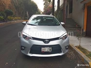 Toyota Corolla LE Aut usado (2014) color Plata precio $180,000