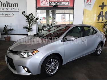 Foto venta Auto usado Toyota Corolla LE Aut (2015) color Plata precio $239,000