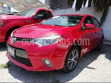 Foto venta Auto usado Toyota Corolla LE Aut (2016) color Rojo precio $217,000