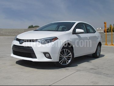 Foto venta Auto usado Toyota Corolla LE Aut (2015) color Blanco precio $185,000
