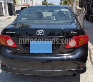 Toyota Corolla XRS 2.4L usado (2009) color Negro precio $105,000