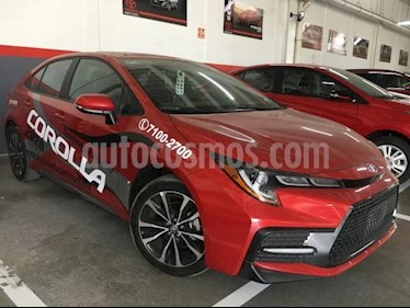 Toyota Corolla 4P SE 2.0L. TA A/AC. AUT. F. LED QC RA-17 usado (2020) color Rojo precio $390,000