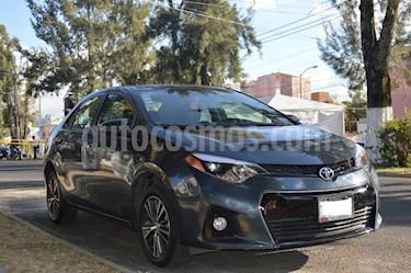 Toyota Corolla S Aut usado (2016) color Gris precio $198,000