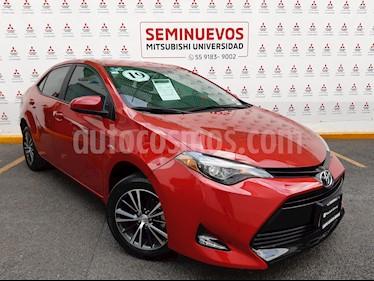 Foto Toyota Corolla LE 1.8L Aut usado (2019) color Rojo Mica precio $275,000