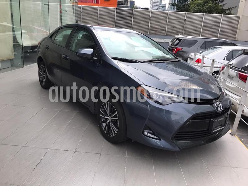 Toyota Corolla Base usado (2017) color Azul Acero precio $215,000