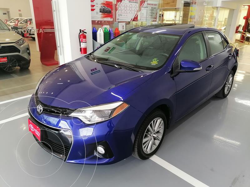 Foto Toyota Corolla S usado (2014) color Azul precio $187,000