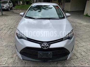 Toyota Corolla LE CVT usado (2017) color Plata precio $219,000