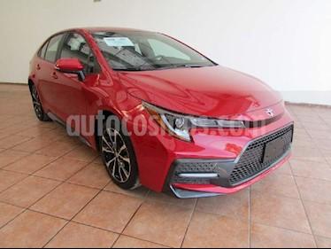 Toyota Corolla SE usado (2020) color Rojo precio $404,000
