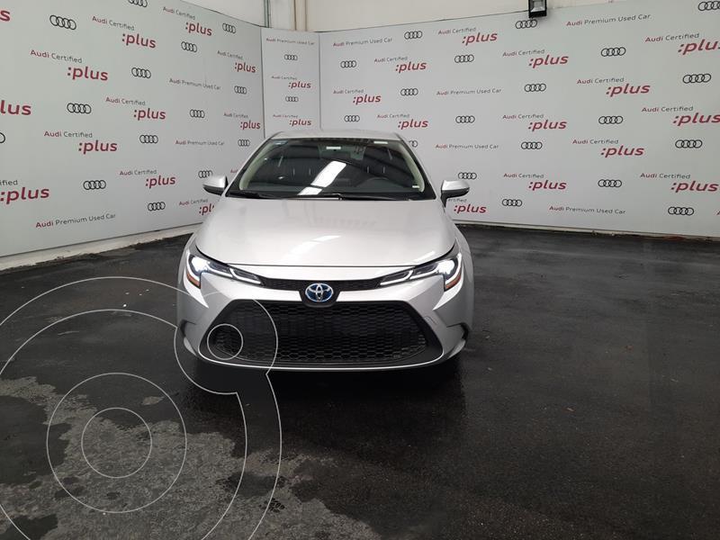 Foto Toyota Corolla Hybrid Aut usado (2020) color Plata precio $370,000