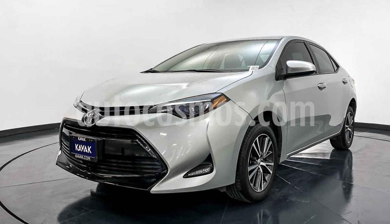 Toyota Corolla LE 1.8L Aut usado (2017) color Gris precio $249,999