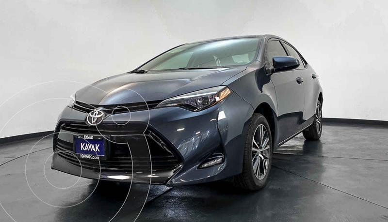Toyota Corolla Base Aut usado (2016) color Azul precio $249,999