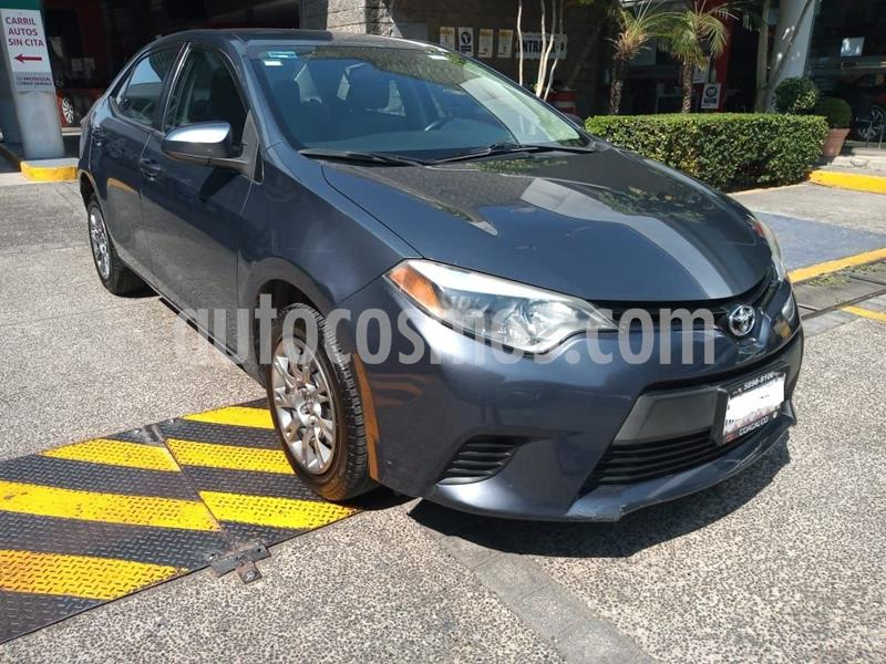 Toyota Corolla Base usado (2015) color Gris Oscuro precio $177,000