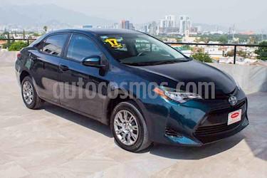 Toyota Corolla Base usado (2017) color Azul precio $184,700