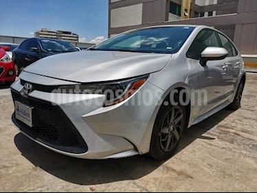 Toyota Corolla Elija una version usado (2020) color Plata precio $274,900